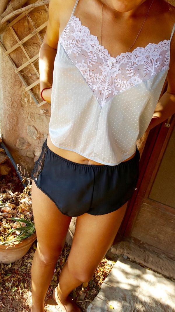Kayser Black Lace Shorts