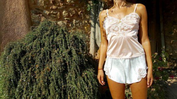 Kayser Anti Static Slip - Peach Lace